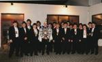 Raad van 11 met prins carnaval 1997 in Rekem
