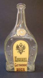 Fles 'Kummel Getreide Riga', voor Rubbens, Zele, ca. 1930-1950