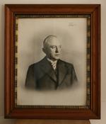 Felix Demol, burgemeester van Dworp van 1933 tot 1964.