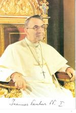 Bidprent paus Johannes Paulus I.