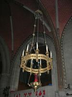 elektrisch, godslamp (9-armige luchter)