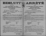 Hasselt, affiche van 20 november 1918 - regels inzake fabricage van suiker, melasse, bietensiroop, confituren en kunstmatige honing.