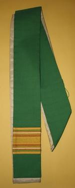 Groene diakenstola