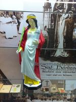 Sint Barbara beeld