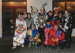 Carnavalsgroep met prins Carnaval in Rekem 1997