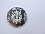 Zilveren gedenkpenning De Grootste Belg