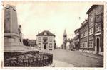 Landen. Gendarmerie en Kerkstraat et rue de l'Eglise