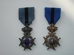 medaille: Ridder in de Orde van Leopold II (2 stks)