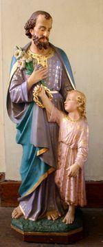Heilige Jozef met Jezuskind