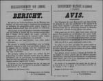 Hasselt, affiche van 28 februari 1919 - premie voor gendarmes en politiebeambten voor het in beslag nemen van vuurwapens.