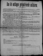 Affiche (van januari1919) - betalingen van vergoedingen aan ontslagen gerepatrieerde militairen.