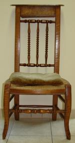 Twee kerkstoelen