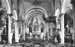 binnenzicht St.-Sebastiaanskerk tot 1962 zonder gelovigen