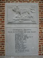 gedenksteen gesneuvelden Eerste Wereldoorlog
