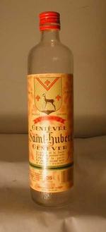 Fles 'Génièvre Saint-Hubert' voor Neycken, Andrimont, ca. 1992