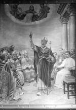 H. Servatius met madonna en bisschop Kerkhofs