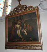 Jesus wordt van het kruis genomen en op de schoot van Maria gelegd
