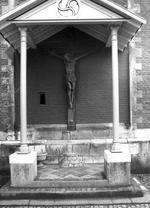gekruisigde Christus