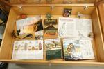 Documentatie over prehistorische dieren.