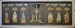 Altaarantependium met Onze-Lieve-Vrouw van Scherpenheuvel en heiligen