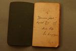 Notitieboek 'Joseph Gonissen'