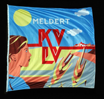 Vlag van KVLV Meldert