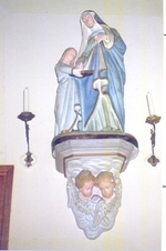 H. Anna leert Maria lezen