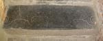grafsteenfragment versiering