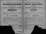 Hasselt, affiche van 23 april 1919 - maximumprijzen meel, zemelen en brood.
