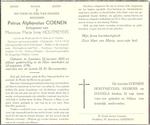 DP Coenen Petrus Alphonsius