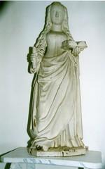 H. Genoveva van Parijs met naambordje