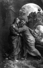 De ontmoeting van Anna en Joachim bij de gulden poort