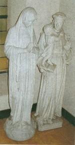 Onze-Lieve-Vrouw en Sint-Franciscus