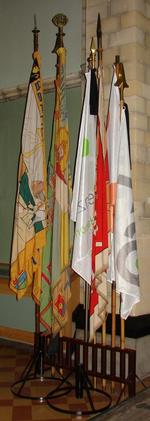 Reeks vlaggen