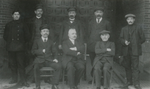 Directie en personeel van het voormalige Gesticht te Rekem