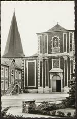 Zonhoven Kerk en Gemeentehuis