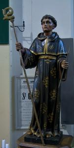 Heilige Aegidius op offerblok