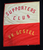 Vlag van supportersclub VK Gestel