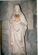 Jezus met brandend Hart