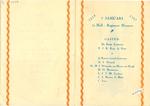 Menukaart 1ste Half-Regiment Huzaren (1814-1937)