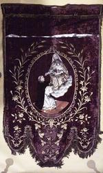 Vaandel met de heilige Dominicus en de heiligen Monulfus en Gondulfus
