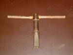 Sleutel van droogpers