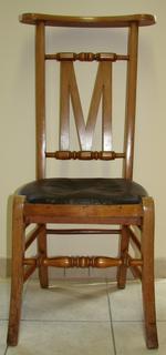 Twee bidstoelen