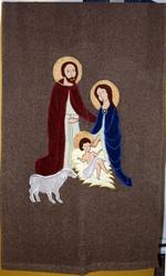 Vaandel met de Heilige Familie