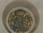 Onze-Lieve-Vrouw van Czestochova met kindje Jezus op de arm