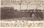 Landen, spoorweg, viaduct Zavelpoort