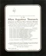 DB Steenaerts Alfons Augustinus