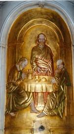 Jezus met de Emmaüsgangers