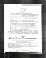 DB Vandermaesen Karel Hubert