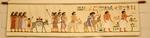 Vaandel met egyptische figuren